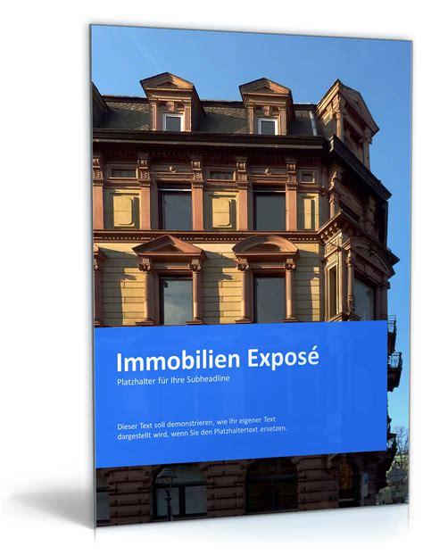 powerpoint vorlage immobilien expose vorlage zum