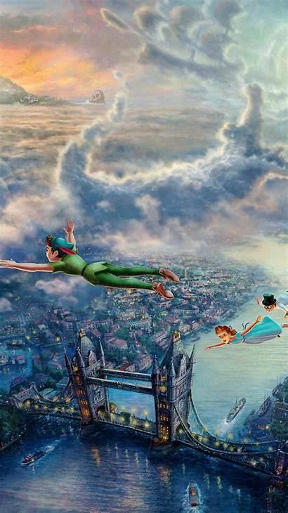 Disney Iphone Thomas Kinkade Peter Pan Plus