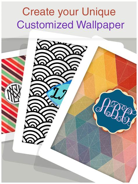 design your own wallpaper monogram wallpapers maker create your own chevron
