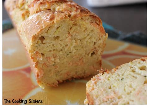 cake saumon boursin  courgette