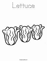 Lettuce Coloring Pages Worksheet Twistynoodle Noodle Outline Vegetables Eggs Twisty Mini Vegetable Ham Login Favorites Built California Usa Worksheets sketch template