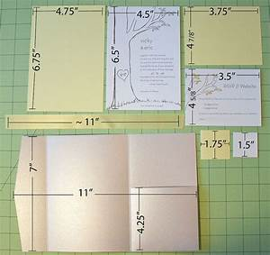 diy wedding pocket fold invites i think it is probably With making pocket wedding invitations