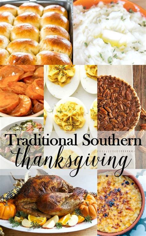 By the time christmas dinner rolls around, we're tired of turkey and the trimmings! Traditional Southern Thanksgiving Menu | Southern thanksgiving menu, Thanksgiving dinner menu ...