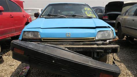 junkyard find  honda civic  hatchback