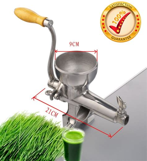 juicer manual wheatgrass grass machine juice wheat stainless press healthy cold steel extractor quality juicers