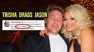 TRISHA PAYTAS DRAGS JASON NASH & HIS EX WIFE! - YouTube