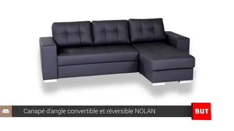 but canap canape d 39 angle convertible et réversible nolan but