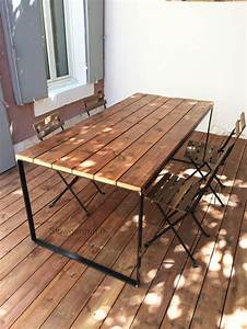 Table De Jardin En Bois Pas Cher : cabane jardin marseille et terrasse bois ~ Teatrodelosmanantiales.com Idées de Décoration