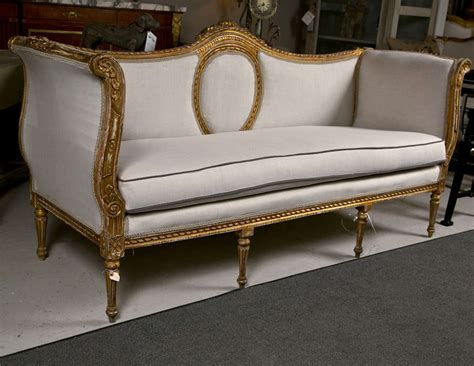 canapé style louis xvi exceptional louis xvi style canape sofa at 1stdibs