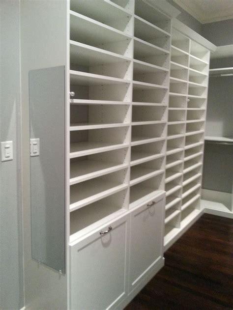 shoe storage potential   custom closet