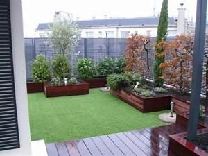 Decoration Jardin Terrasse : deco petit jardin terrasse ~ Teatrodelosmanantiales.com Idées de Décoration