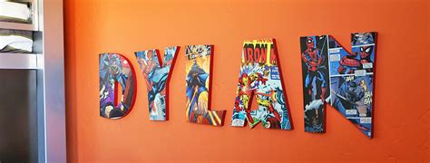 diy comic book letters craftcutscom