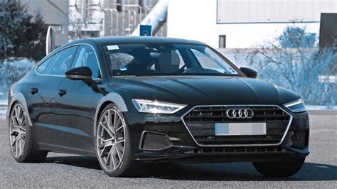 2019 New Audi Rs7 Spyed