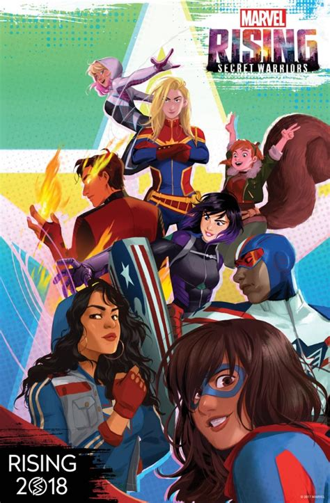 Heroes Of The Animated Wallpaper - animated marvel rising multiplatform series coming in 2018
