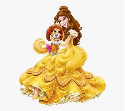 Disney Princess Belle Dog Teacup Clipart Cartoon