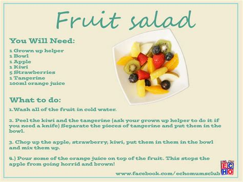 echo easy recipes for to make for liverpool echo 603 | ECHOFruitSalad