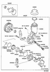 Toyota Echo Power Steering Pump  Pump  Vane  Suspension  Brakes