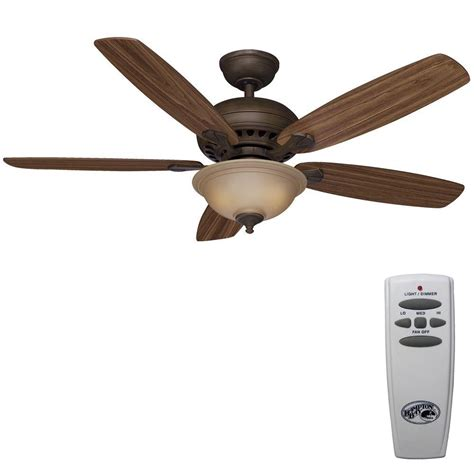 large ceiling fans with remote control hton bay southwind 52 in venetian bronze ceiling fan