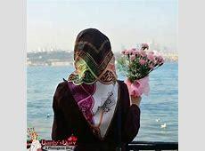 hijabigirlwithbouquet