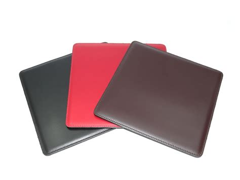 souris de bureau tapis souris en cuir ts700 noir