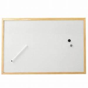 Cadre Photo 60x40 : petit tableau blanc avec cadre en bois tableau velleda pas cher ~ Teatrodelosmanantiales.com Idées de Décoration