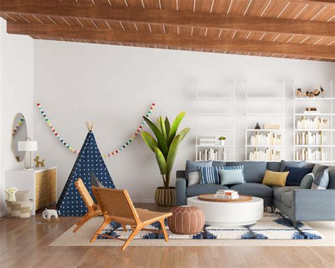 tips  designing  kid friendly living room modsy blog