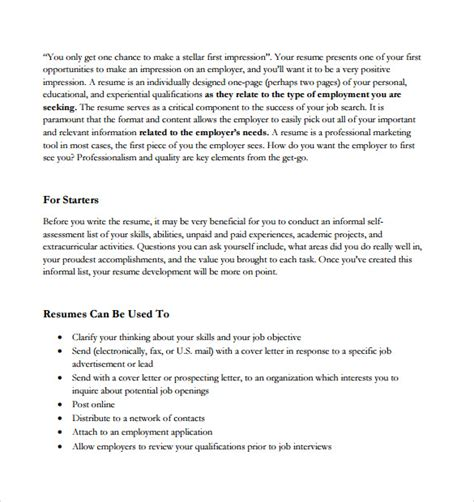 How To Fax A Resume by Sle Resume Fax Cover Sheet 8 Documents In Word Pdf