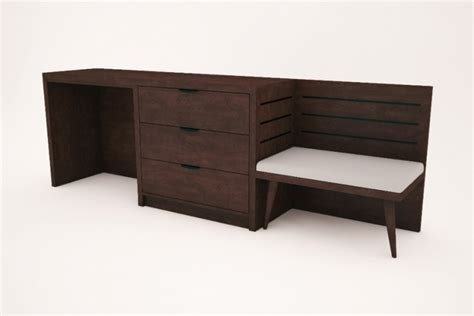 headboard nightstand combo hotel furniture sutton hospitality designs 11777
