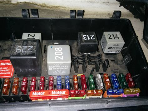 1994 Audi Cabriolet Fuse Box by Electric Window Relay Audifans Net