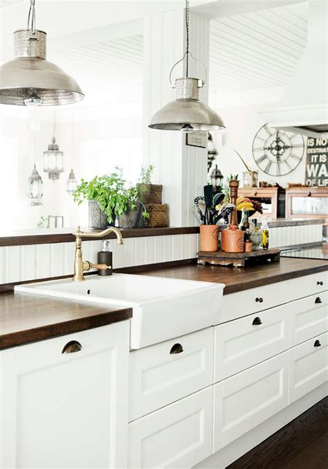 white farmhouse kitchen cabinet design homemydesign
