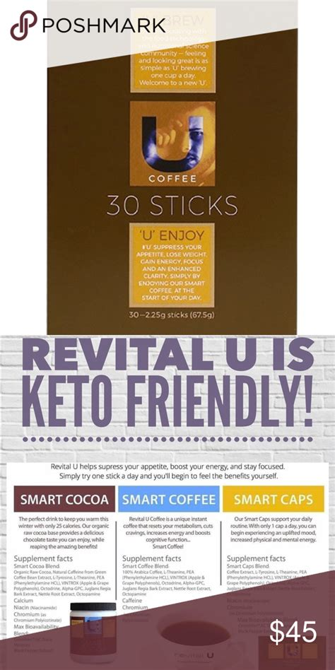 Revital u is on a mission to provide products that transform lives one sample at a time. Revital U Coffee Sticks (30)count Boutique in 2020 (With images)   Long drink, Stick, Coffee