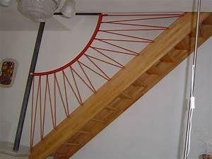 Garde Corp Escalier : garde corps d 39 escalier en cordages la route du wouabla ~ Dallasstarsshop.com Idées de Décoration