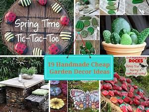 19 Handmade Cheap Garden Decor Ideas To Upgrade Garden