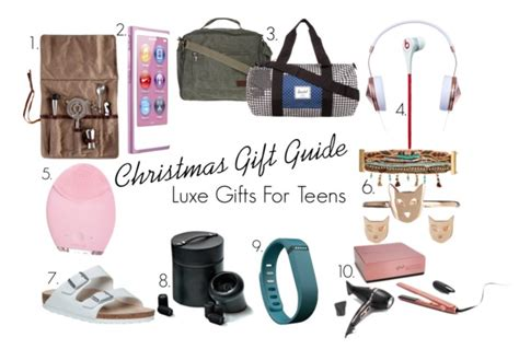 christmas gift guide for teens luxe more than adored