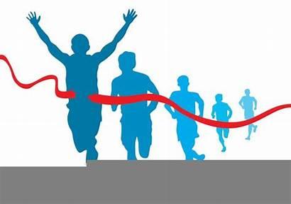 Clipart Runner Marathon Clip Clker