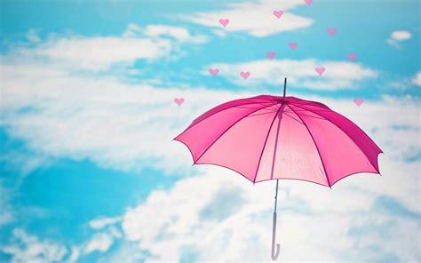 flying heart  sky  umbrella hd wallpapers rocks
