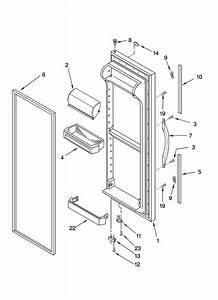 Wiring Diagram Whirlpool Side Side Refrigerator