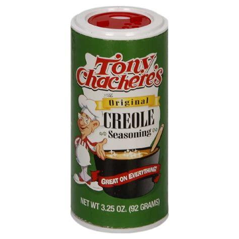 creole seasoning tony chachere s creole seasoning original shaker