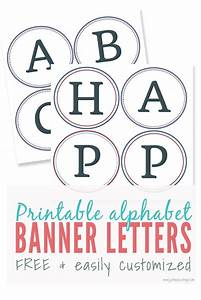 free printable banner alphabet free design templates With banner letters