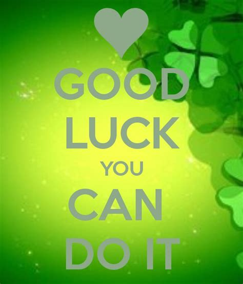 Good Luck Pictures, Images, Graphics