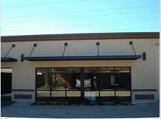 metal building awnings commercial building canopies