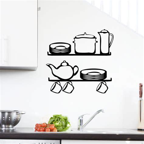 stickers muraux pour cuisine stickers muraux pour la cuisine sticker étagère 2