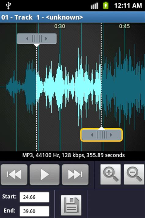 ringtone maker mp3 cutter for android