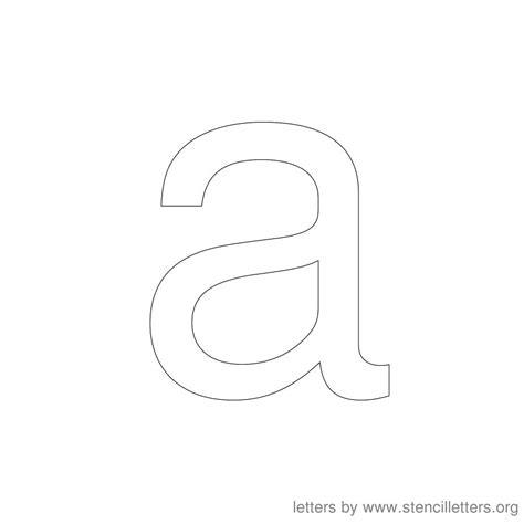 printable lowercase letter stencils stencil letters 12 inch lowercase stencil letters org