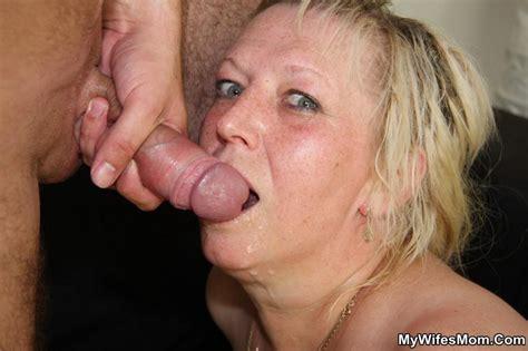 Dirty Chubby Mature Slut Swallows Hot Cum A Xxx Dessert