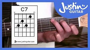 G7  C7  B7 Chords  Guitar Lesson Bc