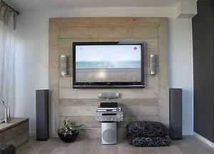 Muebles de palets para la televisión I Love Palets