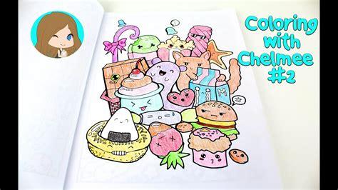 kawaii coloring book coloring with chelmee 2 kawaii coloring book
