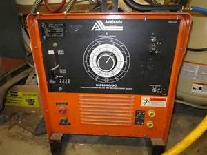 Acklands Grainger Welder N-250 Help