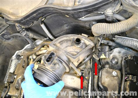 mercedes benz  maf mass air flow sensor replacement